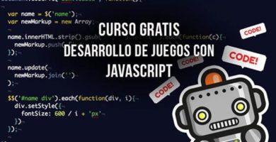 Curso gratuito Desarrollo de Juegos con JavaScript