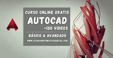 Curso Gratuito de Autocad 2D Y 3D con certificación