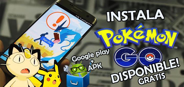 pokemon go instala
