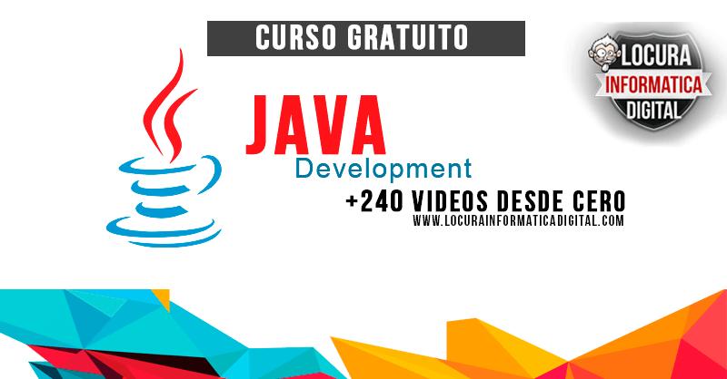 Curso Gratuito De Java Desde Basico Hasta Avanzado