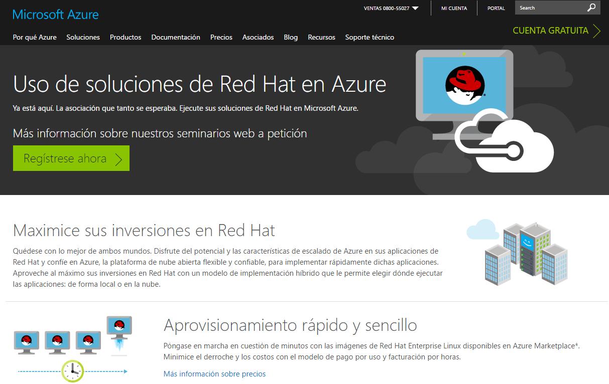 productos Microsoft disponible en Linux