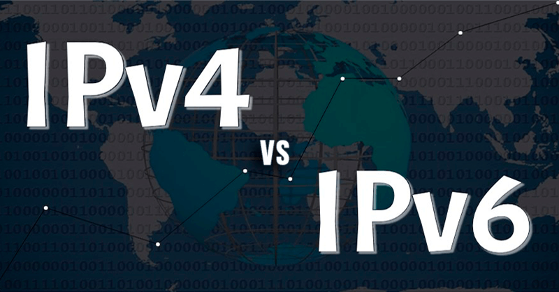 protocolo ipv4 e ipv6 diferencias