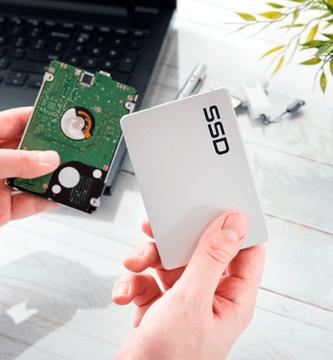 discos duros HDD SSD