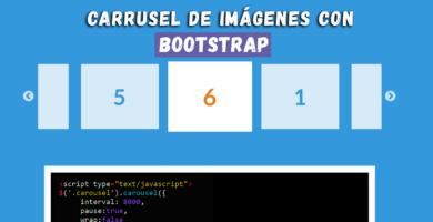 Cómo crear un carrusel de imágenes con Bootstrap