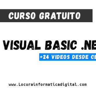 Curso gratuito de Programación en Visual Basic.NET desde cero