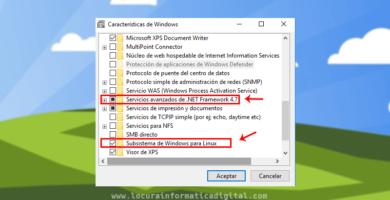 Cómo activar y desactivar las características de Windows 10