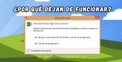 ¿Por qué los programas de Windows dejan de funcionar?