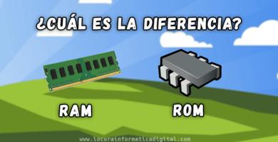 ¿Cuál es la diferencia entre la memoria RAM y ROM ?
