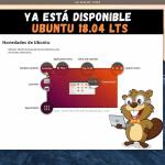 Lanzamiento oficial Ubuntu 18.04 LTS con nuevas características | Descarga disponible