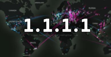 Utilice el nuevo DNS de Cloudflare 1.1.1.1 y haga que su Internet sea más rápido y privado