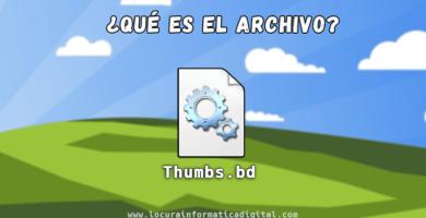 ¿Qué es el archivo thumbs.db en windows?