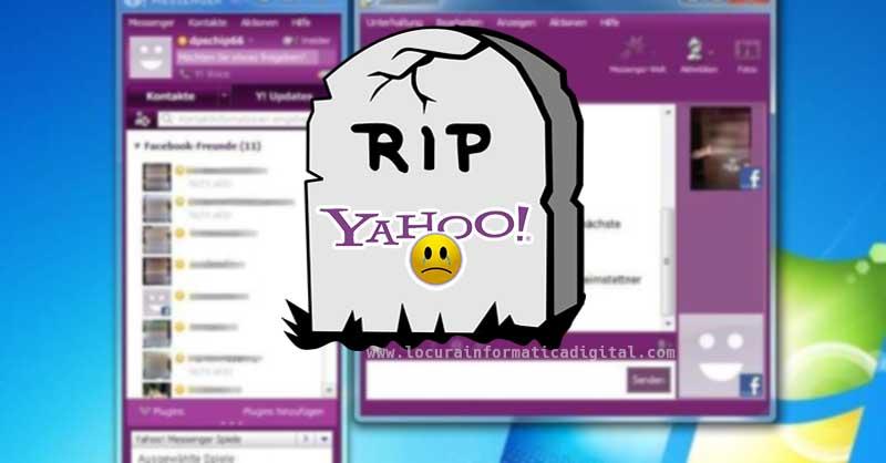 después de 20 años Yahoo Messenger llegará a su fin el próximo mes