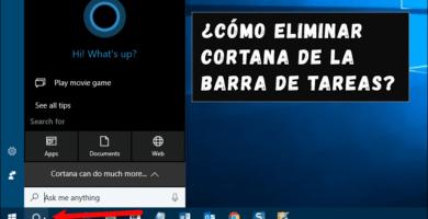 Cómo eliminar Cortana de la barra de tareas en Windows 10