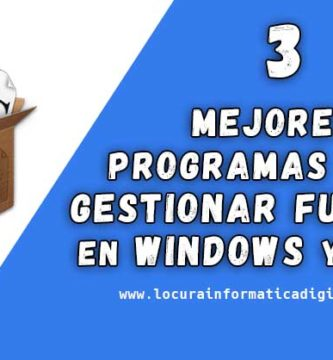 Los 3 mejores programas para gestionar fuentes en Windows y Linux