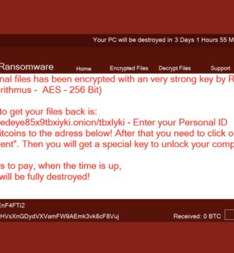 Nuevo Ransomware 'RedEye' Destruye todos los archivos de su PC