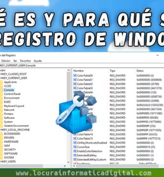 ¿Qué es y para qué sirve el registro de Windows? | Guía paso a paso