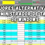 Los 7 mejores programas alternativos al administrador de tareas de Windows 10/8/7
