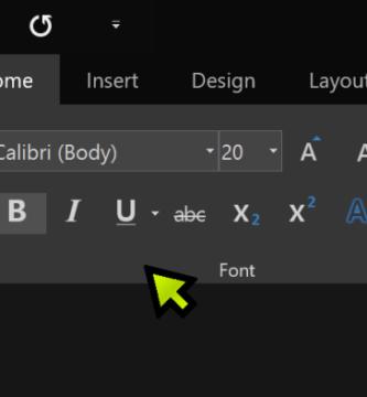 Cómo activar el modo oscuro en Microsoft Office
