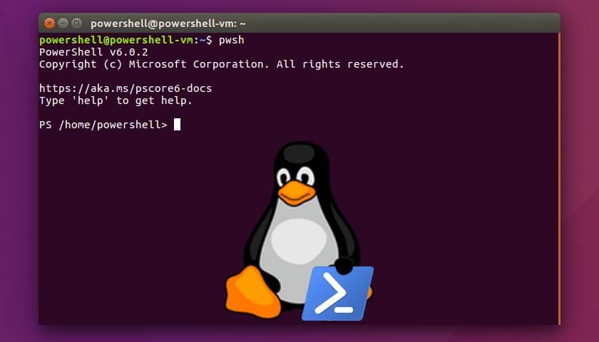 La PowerShell de Windows ahora está disponible para Linux