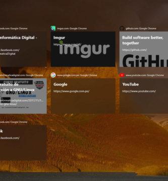 Cómo integrar el Timeline de Windows 10 a Google Chrome y Firefox
