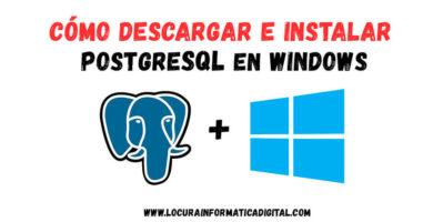 Cómo Descargar e instalar PostgreSQL en Windows 10/8/7 | Guia práctica