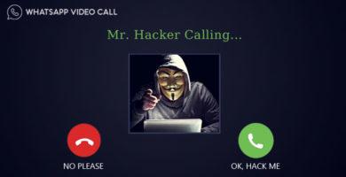 Solo responder a una videollamada podría comprometer tu cuenta de WhatsApp