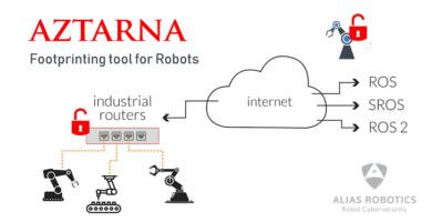Aztarna, La Herramienta Gratuita para Buscar Robots Hackeables Conectados a Internet
