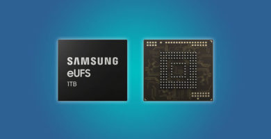 Samsung empezó la producción masiva de memorias internas de 1TB para celulares