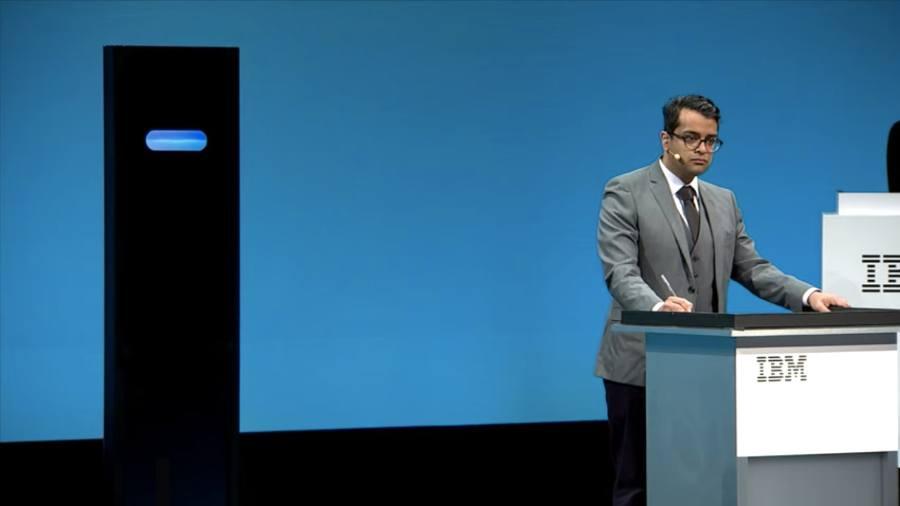 """La Inteligencia Artificial de IBM fue Derrotada por un humano en un """"Debate"""""""