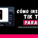 Como Instalar TIK TOK en una Computadora | Guía Definitiva