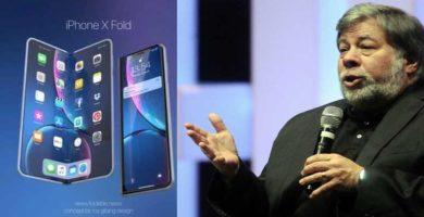 Steve Wozniak se Enoja porque Apple aún no trae un iPhone Plegable ⚡