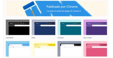 Google Acaba de Publicar la Colección Oficial de Temas para Chrome