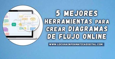 Las 5 mejores herramientas para crear diagramas de flujo Online | Gratis