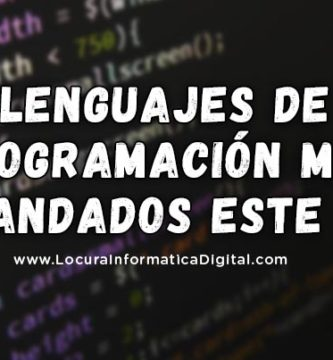 Los 7 Lenguajes de Programación más Demandados para este 2019