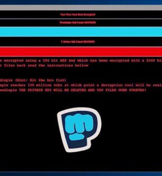 Fans de PewDiePie Crean Ransomware que Bloquea tus Archivos Hasta que llegue a los 100M de suscriptores