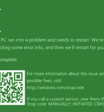 ¿Sabías que Windows 10 tiene una pantalla verde de la muerte?