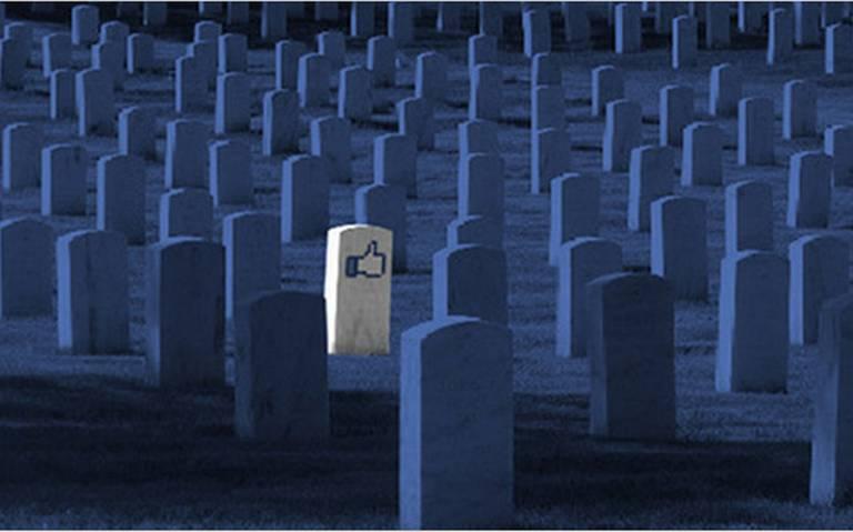 Dentro de 50 años habrá más Personas Muertas que Vivas en Facebook ⚡
