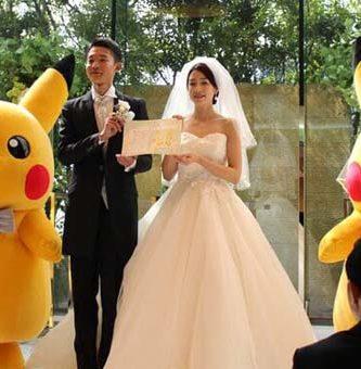Las Bodas Pokemon ya son una Realidad