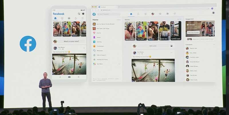 Facebook Anuncia un Rediseño Total para su Plataforma Web y Movil