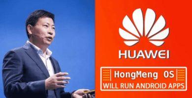 El Nuevo Sistema Operativo de Huawei Podrá Ejecutar Aplicaciones Android