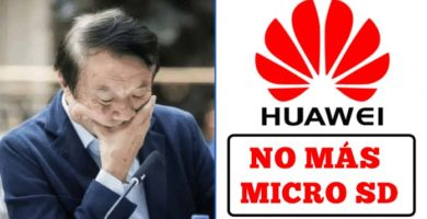 Huawei ya No Podrá Utilizar las Tarjetas Micro SD en sus Futuros Dispositivos