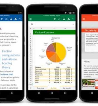 Microsoft Office Dejará de Funcionar en las Versiones Antiguas de Android
