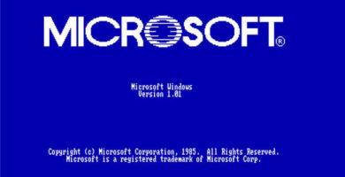 Por Alguna Extraña Razón Microsoft empezó a Promocionar Windows 1.0