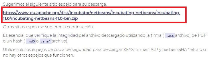 descarga netbeans 11.0