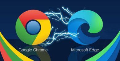 Google Chrome ya Comenzó a Mostrar Alertas en Contra de Microsoft Edge