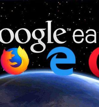 Google Tardo 3 años para Agregar la Compatibilidad con firefox, edge y opera a Google Earth