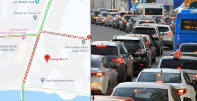 Un hombre logro engañar a Google Maps creando un Tráfico Falso con 99 celulares