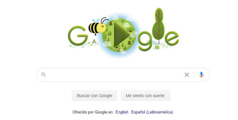 Hoy es el Día de la Tierra y Google lo celebra con este bonito juego de doodle