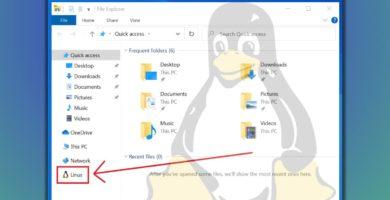 Llegó la 'Integración de archivos Linux' al Explorador de Archivos de Windows 10