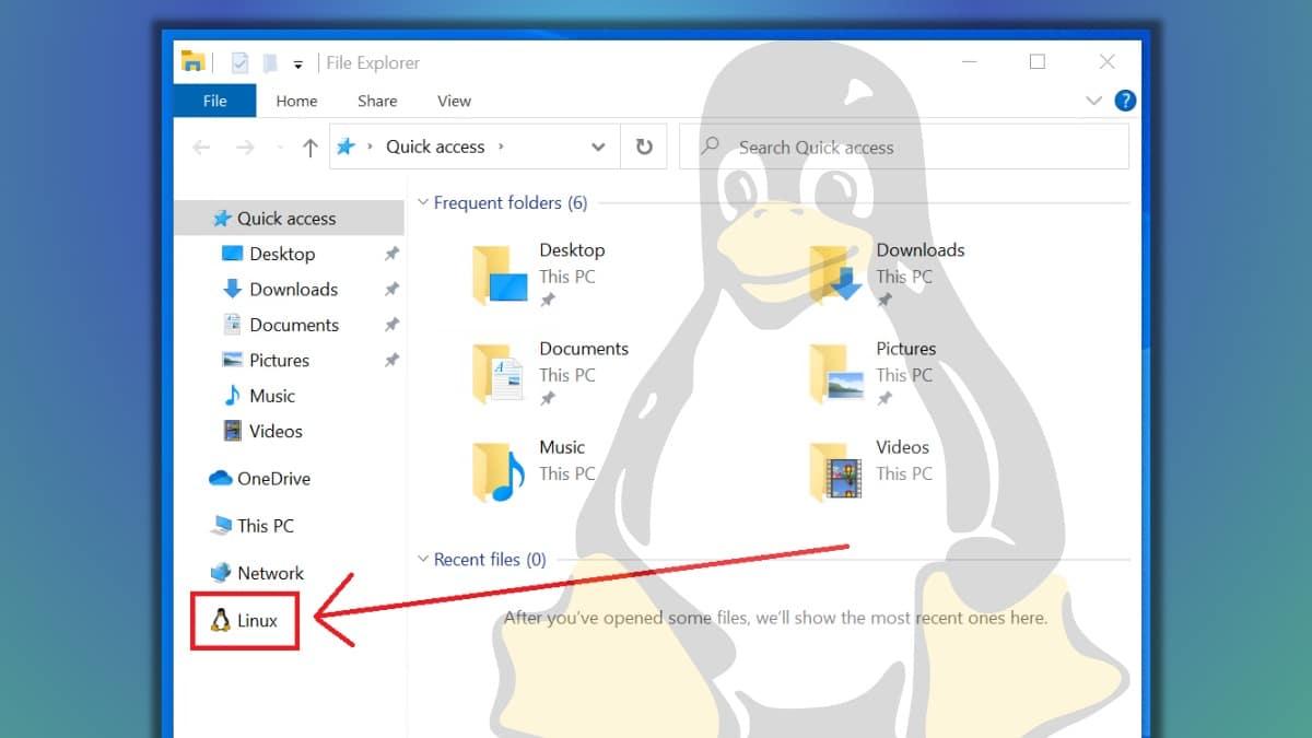 Llegó la 'Integración de archivos Linux' al Explorar de Archivos de Windows 10